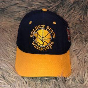 Vtg starter nba golden state warriors baseball hat